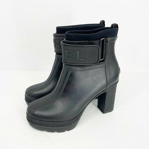Sorel Medina III High Heel Rain Boot Waterproof, 8